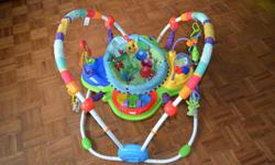 Baby Einstein Neighborhood Friends Activity Jumper from a Non-smoking household. Little guy loved it, however has grown out of it. Can arrange to deliver within Langford/Colwood area, if required. Text or email works best.