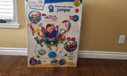 Hello I have a baby Einstein musical activity jumper with head support. Don't use it anymore.. hardly used it because my baby girl didn't like it. So it's in good shape. Smoke and pet free home. Willing to negotiate price. Please email preferably. Can't