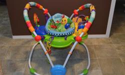 Fun Activity Center for Babies that includes: Secure support seat has added height and padding to provide additional comfort for baby Seat rotates 360 degree to give baby full access to toys 4 fun activity stations-includes piano that activates lights,