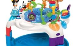 Like new Baby Einstein Around the World Discover Center. Purchased new from Toys R Us and only used a handful of times.