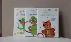 Set of 3. * Numbers Nursery * World Animals * Baby Shakespeare Excellent condition - never handled by children