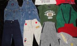 ON HOLD... Baby Gap The Children's Place Old Navy and more sizes 3 and 4T includes 2 pairs of jean overalls, 3 pairs of pants 2 Fleece tops and more.. please contact for more details.