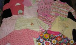 Baby Girl Clothes 3-6 months (15 pieces) $20