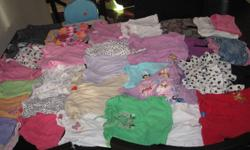 Lot of 33 spring/summer items 3-6 months. All are in great condition from a smoke free home and lots of brand names.