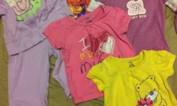 I have lots of girl clothes to sell. 6 sleepers, 30 onesies, 12 shirts, 17 shorts and skirts, 17 pairs of pants, 7 dresses, slippers. Msg if interested. This ad was posted with the Kijiji Classifieds app.