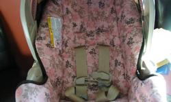 smoke free home,no spills,my baby didnt drunk or eat in it,pink & brown