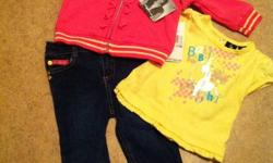 Baby Phat 3 piece outfit Size 6-9 months $30.00
