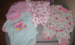 Baby girl clothing, in great shape, no rips or stains, smoke free home. Take a peek at my other ads!! Lots more!!