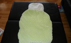 Excellent Condition... Snuggli carrier: $10  Car Seat Cover: $10