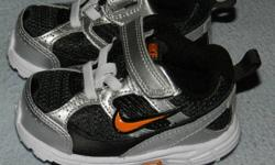 Nike Sneakers size 3 excellent condition  asking  20.00  ono each   I have two pairs of these sneakers.