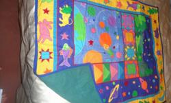 baby quilts and afghans all these are home made, and have not been used. make me an offer