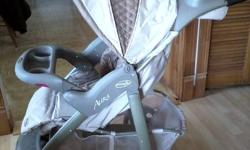 Aura Evenflo Baby Stroller   used 3 weeks   asking $100.00   call after 6pm 742.7504