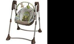 Baby swing $40 firm!