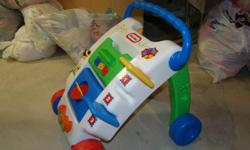 Mail delivery baby toy Helps babies learn to walk in a safe way. Sturdy and really works. $5.00 obo Located in Carrot River, pick up only. 306-768-2456