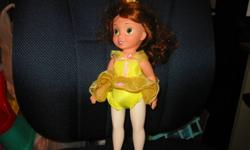 Toddler doll, Ballerina  Belle posses like a ballerina when you push her crown down.  Asking $7.00 From a smoke and pet free home.