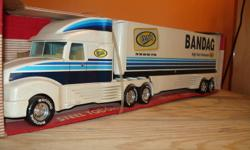 """bandag logo made by nylint new in box, approx 24"""" long about 20 years old See my other adds for more brand name, display, promotional, licensed, gift, cars, toys, trucks and collectibles."""