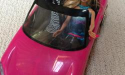 Barbie Car with Barbie included. Comes for pet and smoke free home.