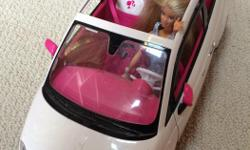 Barbie Fiat Car with Barbie included.