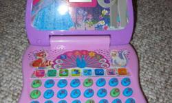 Fun computer for ages 3-6.  Great for learning shapes, colours, numbers.  Easy to use.  Batteries still work.  Please call 864-2769 if interested.