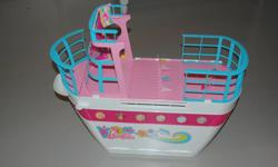 Barbie Cruise Ship for sale. Brand new condition. Some accessories included. Brand new condition, $139 to buy new. Great for Christmas gift.
