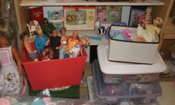 Barbie & Ken Dolls and a clothing collection, the Dolls & clothing is in good condition, selling the Barbie & Ken Dolls for $10 each, selling the Barbie clothes for $3 each BUY 1 get 1 FREE , BUY 5 clothing for $10 - * View seller's list - for more items,