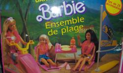 Barbie Island Fun Surf Set  $20 takes it No Barbies FIRST COME FIRST SERVE  NO HOLDS PLEASE  comes from smoke , pet free ,bug free home........ please call amber @ 952-3162 PLEASE SEE MY OTHER AD'S FOR MORE BARBIE STUFF OR MORE