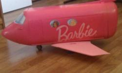 Selling a barbie jet, all pieces included!! Sells for $100.00 at the stores. Like new condition!! I bought it for my niece and she barely used it. $30.00 OBO This ad was posted with the Kijiji Classifieds app.