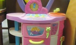 Good condition, plastic Barbie kitchen. Buyer must be able to pick up item Monday - Friday between the hours of 8:00 a.m. to 3:30 p.m.