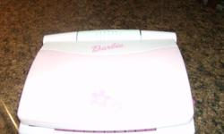 For Sale Barbie laptop great for young children to learn numbers,alphabets etc.