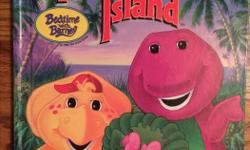 Cute book based on the Imagination Island Barney video (not sure if it ever made it to dvd...) 5.00 obo