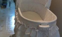 Brand new bassinet. Used for only a couple of months. With music, light and vibration. In excellent condition. If your interested call me at 250-3077708 This ad was posted with the Kijiji Classifieds app.