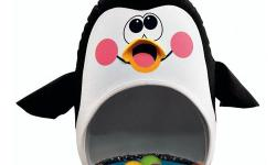 """6+ months This super fun penguin is 16"""" tall with colourful balls inside, plays silly music and has bounce back action! Encourages motor skills, balance and coordination. 10$ OBO Text or e-mail preferred."""