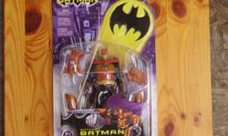 This is a 2003 Battle Spike Batman Figure, made by Mattel.  Brand New in Package.  Asking $5.00.  Use the View Poster's Other Ads button to see what else I have for Sale!!!!