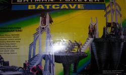I have a batman cave. Great condition, all pieces are there i put together for the picture as it has not been played with.