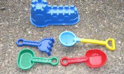 Beach toys (new) - $4