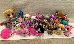 24 Beanie Boos. Clean, in good condition. Non-smoking house.