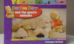 Ages 4-8 Great introduction to the wondrous world of animals. Very good condition.