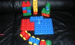 I have a set of Big Lego Duplo & a set of Car/Plane/Tool Playset for $20. Hours of fun for a little one! Will consider selling seperatly. From a smoke free home. Please see my other ads for more toys, lots of clothing (especially girls: NEW and used) as