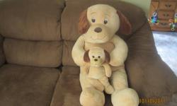i am selling a big stuffed dog he is 3feet tall and in good shape. i am asking $20 obo.