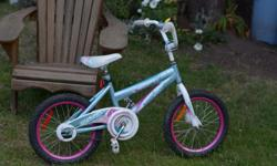 "SuperCycle Illusion Kids 16"" Bike, used in good condition. New tyres and recent set up, ready to bike."