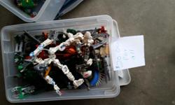 Box of Bionicles. Will take offers!