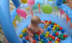 Holds air. No holes or leaks. Lots of fun for the little ones! ~Please check out my other adds~