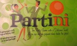 Partini adult board game. In new condition. All pieces intact. lots of fun for a group.
