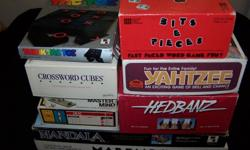 "This Board Games Collection will provide hours of fun for kids of all ages or the whole family on ""Games Night"". I would prefer to sell the whole collection as a group and have them priced together @$21.00. The assortment includes the following Games:"