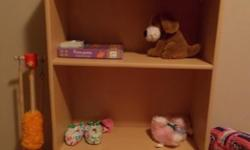 Four-shelf bookcase - used in granddaughter's bedroom but no longer needed. Suitable for books and/or toys. In very good condition and only $20. Call 250-381-5839 or e-mail bcdeslippe@shaw.ca.