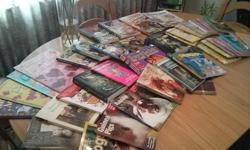 A plethora of English and some French books. Can be purchased separately or all together.