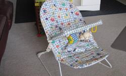 Infant bouncy chair in good shape.10.00 see other adds. Sue(grandma)