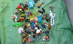 box of toys $20 --60 Pieces -- OBO what you see in the photo is what you get