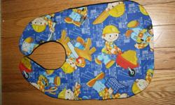All bibs are machine washable as well as dryer safe All have terry cloth backing as well as velcro fasteners Perfect for infants through to preschoolers!