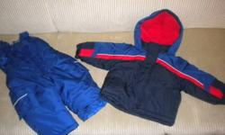 Boy's OshKosh Snowsuit   Bought brand new last winter. In excellent condition. From a smoke-free home.   Size: 18 months   Includes:   Jacket with removable hood Snowpants (worn only a couple times)   $25.00 PICKUP ONLY PLEASE (Wortley Village, South